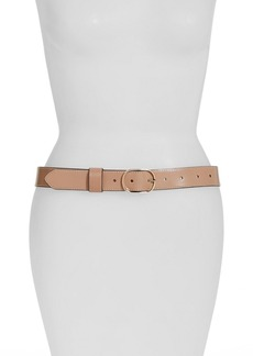 Halogen® Tailored Trouser Leather Belt