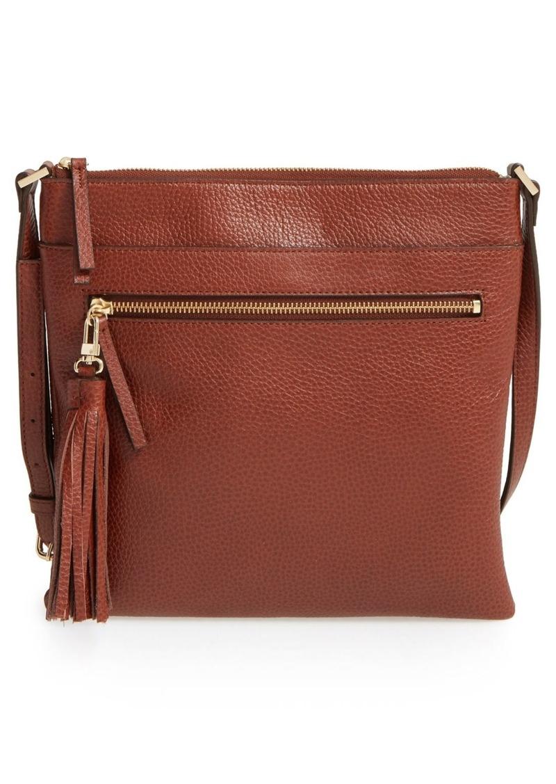a9e85826e5 Halogen Halogen® Tasseled Leather Crossbody Bag | Handbags
