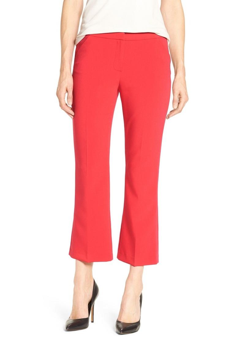 Halogen® 'Taylor' Crop Flare Leg Pants (Regular & Petite)