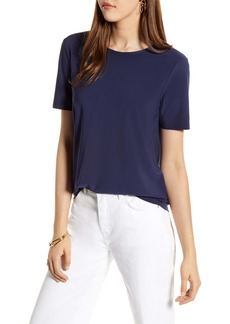 Halogen® Tie Back Knit Top