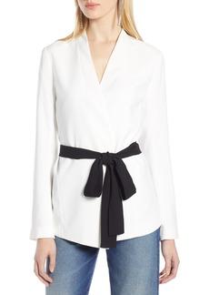 Halogen® Tie Waist Jacket (Regular & Petite)