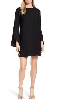 Halogen® Tulip Sleeve Shift Dress (Regular & Petite)