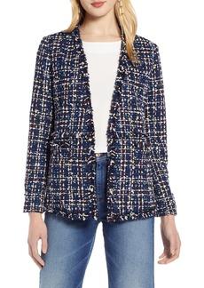 Halogen® Tweed Jacket (Regular & Petite)