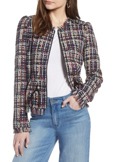 Halogen® Tweed Jacket (Regular & Petite)