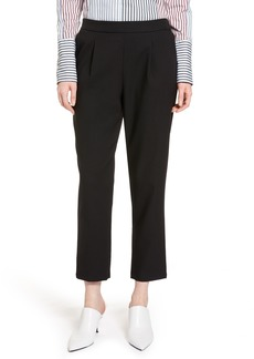 Halogen® Twill Ankle Pants (Regular & Petite)