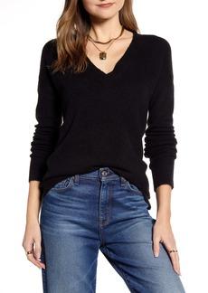 Halogen® V-Neck Sweater