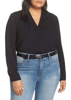 Halogen® V-Neck Top