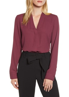 Halogen V-Neck Top (Regular & Petite)