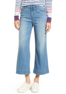 Halogen® Wide Leg Cropped Jeans (Regular & Petite) (Modern)