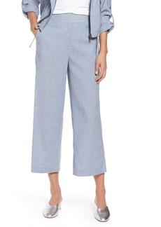 Halogen® Wide Leg Linen Blend Pants (Regular & Petite)