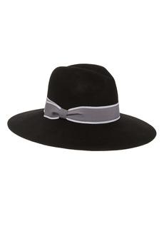 Halogen® Wool Felt Panama Hat