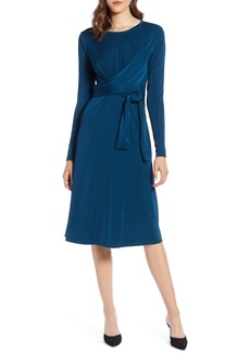 Halogen® Wrap Detail Dress