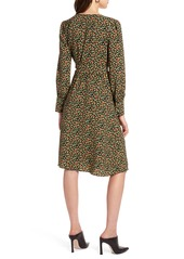 Halogen® Wrap Dress (Regular & Petite)