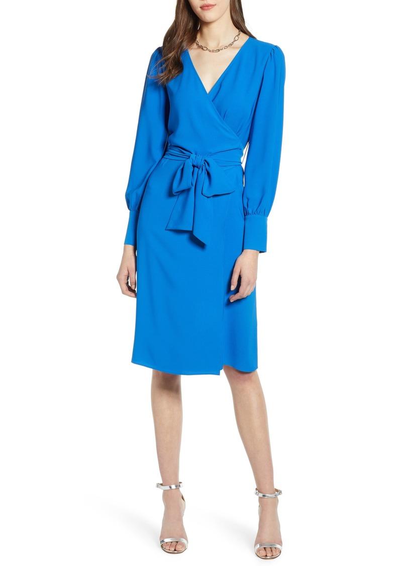 66ab2de9f6a Halogen Halogen® Wrap Dress (Regular   Petite)