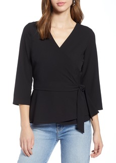 Halogen® Wrap Top