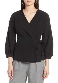 Halogen® Wrap Top (Regular & Petite)