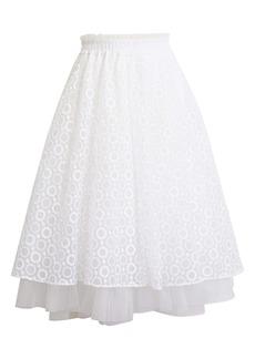 Halogen® x Atlantic-Pacific Daisy Organza Skirt