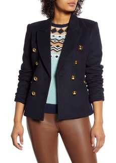 Halogen® x Atlantic-Pacific Double Breasted Blazer (Nordstrom Exclusive)