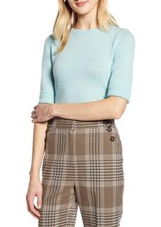 Halogen® x Atlantic-Pacific Elbow-Length Sleeve Sweater (Nordstrom Exclusive)