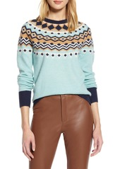 Halogen® x Atlantic-Pacific Fair Isle Sweater (Nordstrom Exclusive)