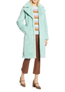 Halogen® x Atlantic-Pacific Faux Fur Coat (Nordstrom Exclusive)