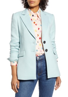 Halogen® x Atlantic-Pacific Fitted Blazer (Nordstrom Exclusive)