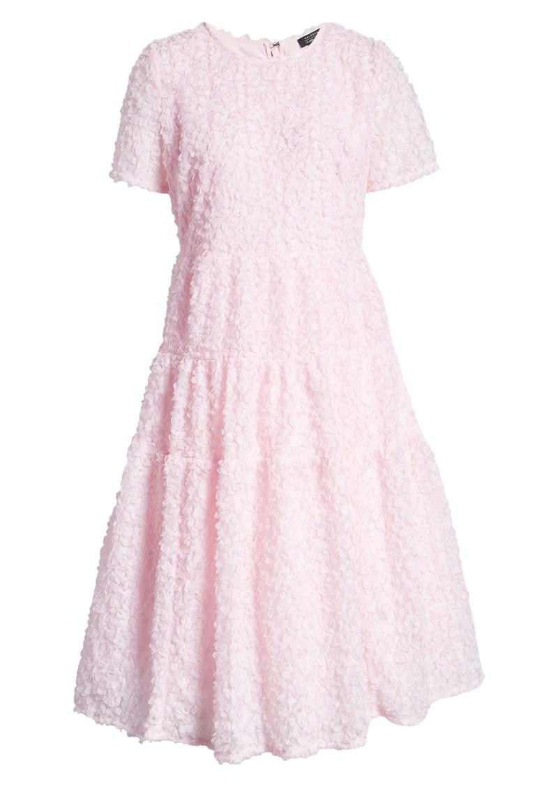 Halogen® x Atlantic-Pacific Floret Tiered A-Line Dress