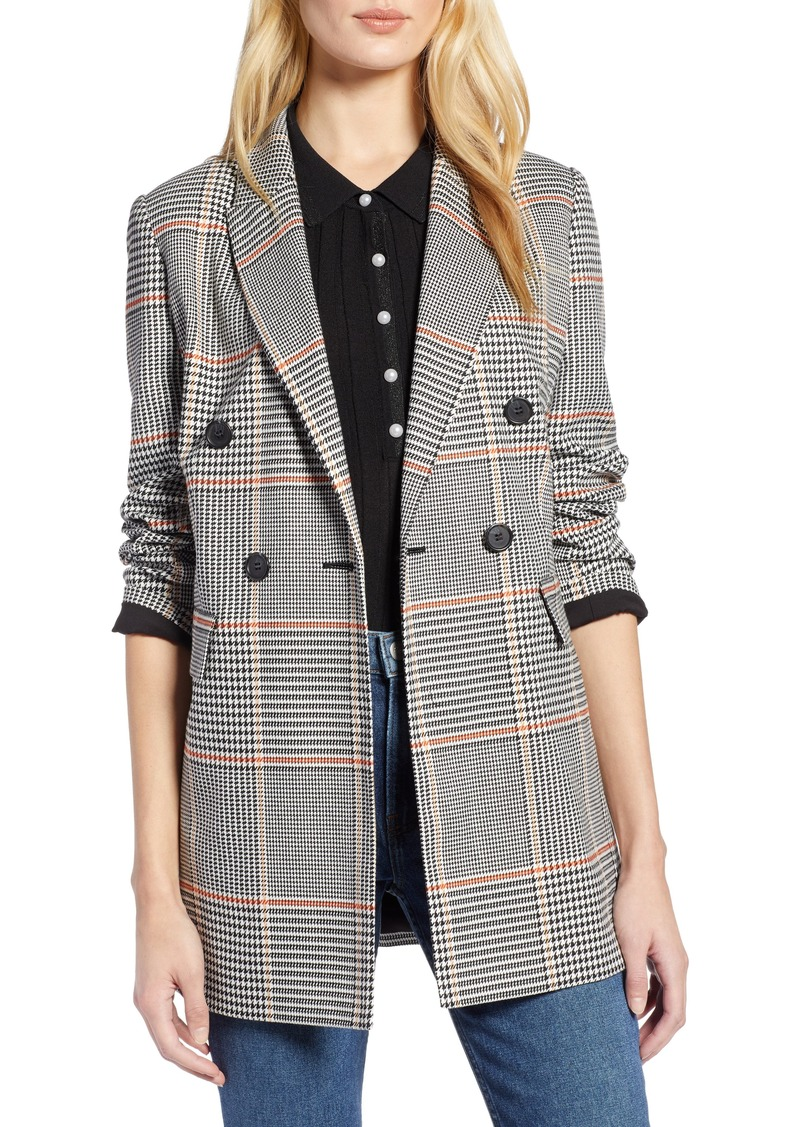 Halogen® x Atlantic-Pacific Menswear Plaid Blazer (Regular & Petite)