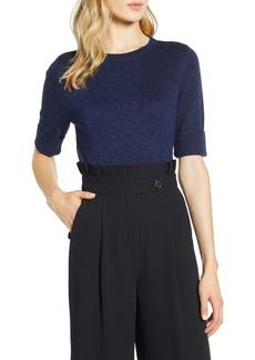 Halogen® x Atlantic-Pacific Metallic Sweater (Nordstrom Exclusive)