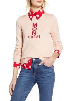 Halogen® x Atlantic-Pacific Mon Cheri Sweater (Nordstrom Exclusive)