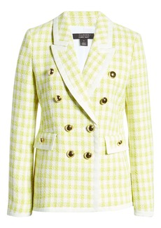 Halogen® x Atlantic-Pacific Neon Tweed Blazer
