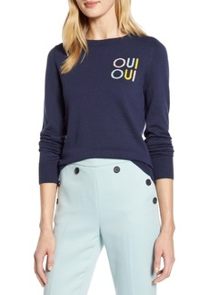 Halogen® x Atlantic-Pacific Oui Oui Sweater (Nordstrom Exclusive)