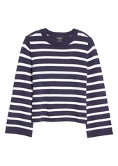Halogen® x Atlantic-Pacific Oversize Stripe Sweater