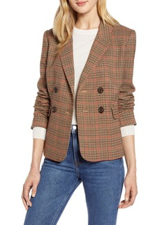 Halogen® x Atlantic-Pacific Plaid Blazer (Nordstrom Exclusive)