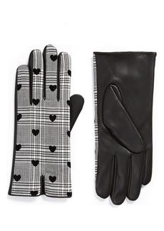 Halogen® x Atlantic-Pacific Plaid Gloves