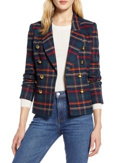 Halogen® x Atlantic-Pacific Plaid Jacket (Nordstrom Exclusive)