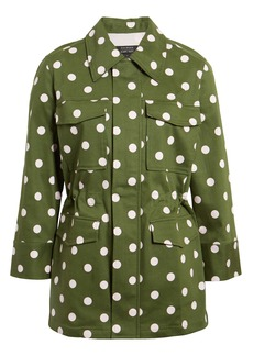 Halogen® x Atlantic-Pacific Polka Dot Utility Jacket