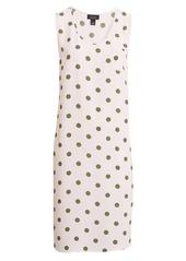 Halogen® x Atlantic-Pacific Print Sleeveless Woven Dress