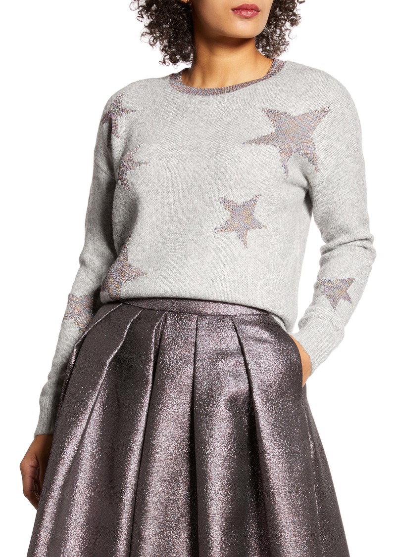Halogen® x Atlantic-Pacific Star Sweater (Nordstrom Exclusive)