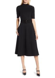 Halogen® x Atlantic-Pacific Stretch Ponte Dress