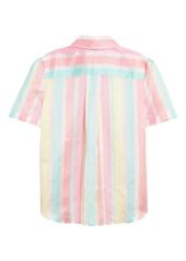 Halogen® x Atlantic-Pacific Stripe Utility Shirt