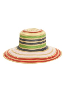 Halogen® x Atlantic-Pacific Stripe Wide Brim Hat