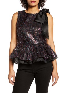 Halogen® x Atlantic-Pacific Tinsel Top (Nordstrom Exclusive)