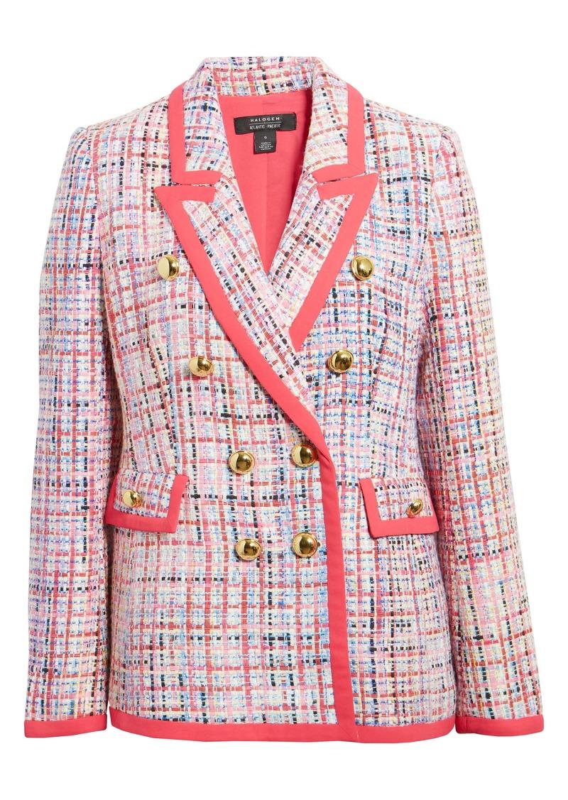 Halogen® x Atlantic-Pacific Tweed Blazer