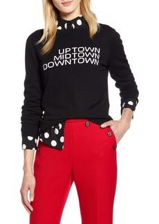 Halogen® x Atlantic-Pacific Uptown Midtown Sweater (Nordstrom Exclusive)