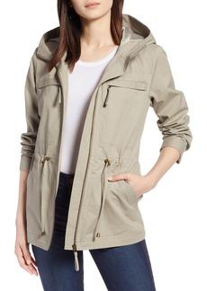 Halogen® Zip Front Field Jacket