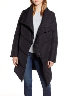 Halogen® Zip Front Puffer Jacket