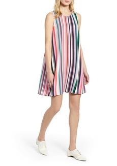 Halogen(R) A-Line Dress (Regular & Petite)