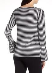 Halogen(R) Bell Sleeve Knit Top (Regular & Petite)