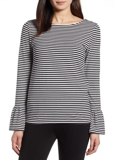 Halogen(R) Bell Sleeve Knit Top (Regular & Petite)